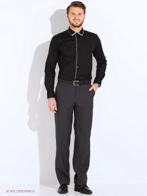 Рубашка PALMARY LEADING. Цвет: черный