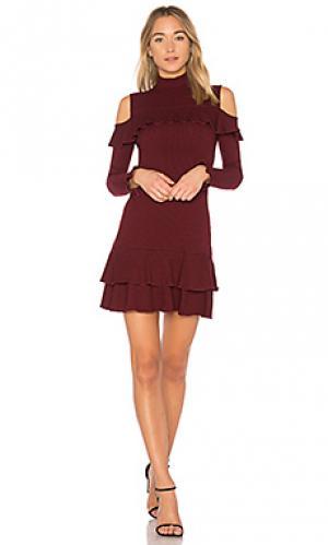 Мини платье NICHOLAS. Цвет: красный