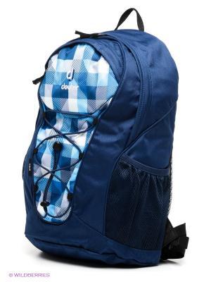 Рюкзак Deuter. Цвет: темно-синий, голубой