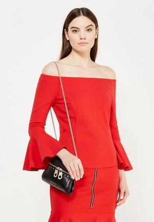 Блуза Pinko. Цвет: красный