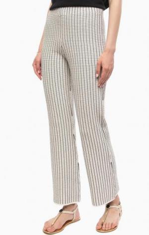 Расклешенные брюки в полоску Stefanel. Цвет: полоска