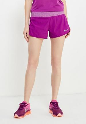 Шорты спортивные Nike. Цвет: фиолетовый