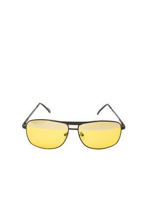 Очки антибликовые для вождения Mitya Veselkov. Цвет: желтый, черный