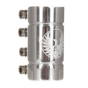 Зажимы  Smooth Scs Clamp Silver Anodized Phoenix. Цвет: серый