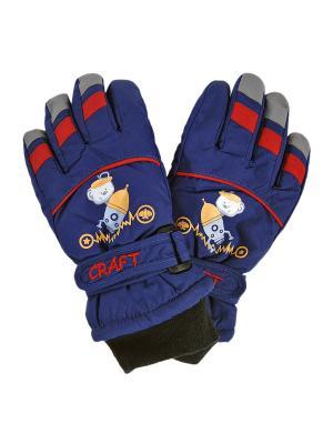 Перчатки GrandDEkids. Цвет: синий, черный