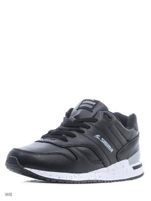 Кроссовки Sigma. Цвет: черный, серый