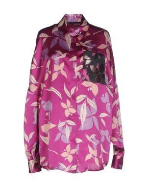 Pубашка GAETANO NAVARRA. Цвет: розовато-лиловый
