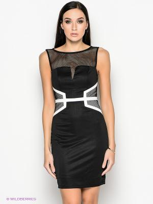 Платье NikiBiki. Цвет: черный, белый