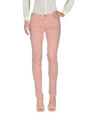 Повседневные брюки JAGGY. Цвет: лососево-розовый