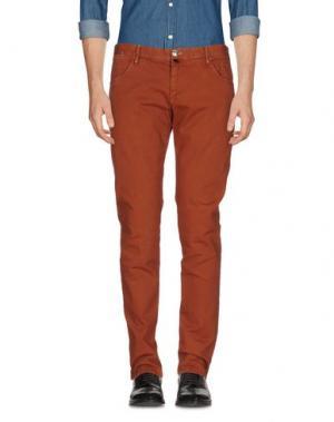 Повседневные брюки VERDERA. Цвет: ржаво-коричневый