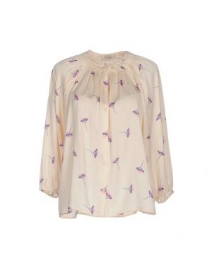 Блузка TUCKER. Цвет: светло-розовый