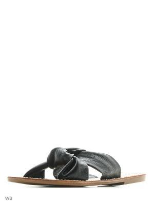 Пантолеты Soludos. Цвет: черный