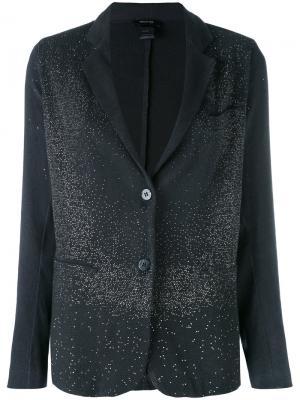 Пиджак с застежкой на две пуговицы Avant Toi. Цвет: синий