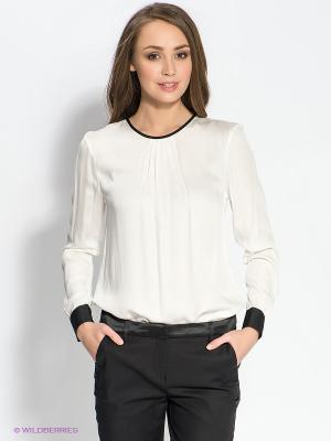Блузка TOM FARR. Цвет: белый