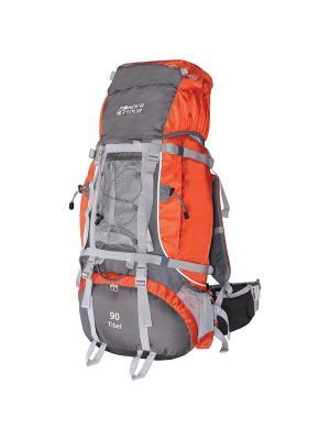 Рюкзак экспедиционный Тибет 90 Nova tour. Цвет: серый,терракотовый