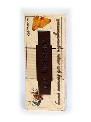 Шоколад для лица подтягивающий, 30 мл Gemene. Цвет: белый, коричневый