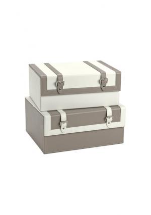 Коробка, 2 штуки Heine. Цвет: коричневый/бежевый