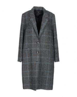 Легкое пальто TRUE TRADITION. Цвет: грифельно-синий