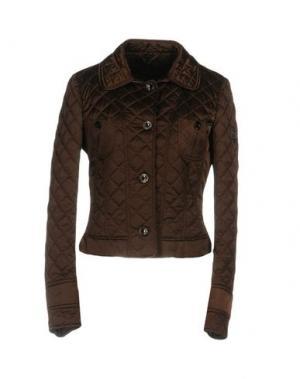 Куртка GEOSPIRIT. Цвет: темно-коричневый