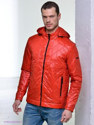 Куртка Conver Vintage. Цвет: коралловый