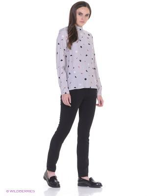 Рубашка MIRANDE Numph. Цвет: серый
