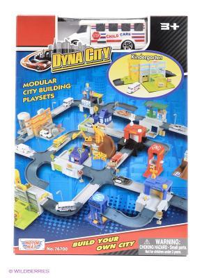 Набор Dyna City Детский сад Motormax. Цвет: синий