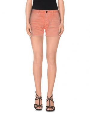 Повседневные шорты OAKS. Цвет: оранжевый