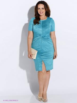 Платье BALSAKO. Цвет: голубой