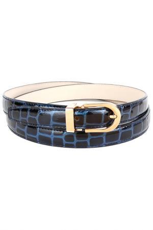 Belt Anthoni Crown. Цвет: blue