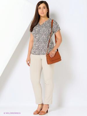 Блузка Milana Style. Цвет: серый