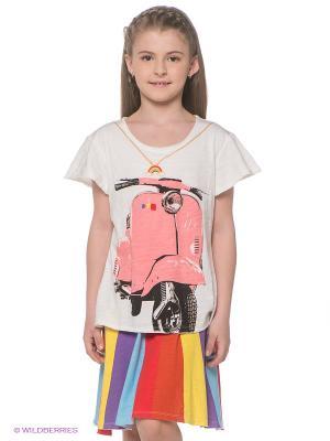 Платье Mini Shatsu. Цвет: молочный, желтый, красный, черный
