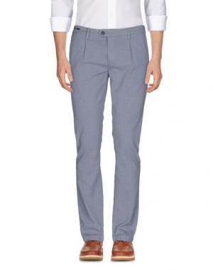Повседневные брюки TELERIA ZED. Цвет: небесно-голубой