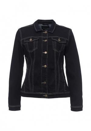 Куртка джинсовая Top Secret. Цвет: синий