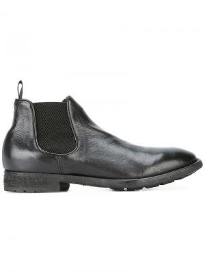 Ботинки-челси Princeton Officine Creative. Цвет: чёрный