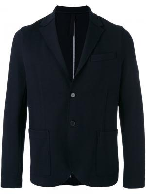 Пиджак с накладными карманами Harris Wharf London. Цвет: синий