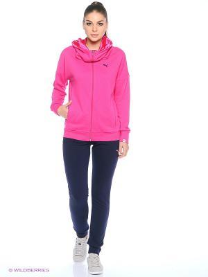 Костюм спортивный  STYLE Oversize Hood Suit cl Puma. Цвет: розовый, синий