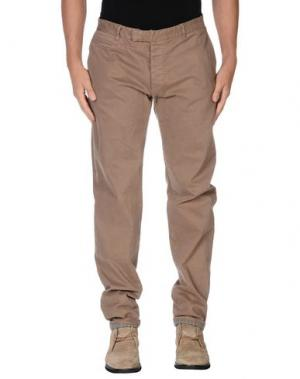 Повседневные брюки G2CHOICE. Цвет: верблюжий