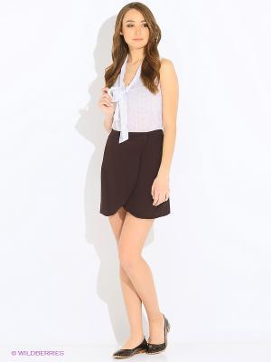 Блузка SELA. Цвет: белый