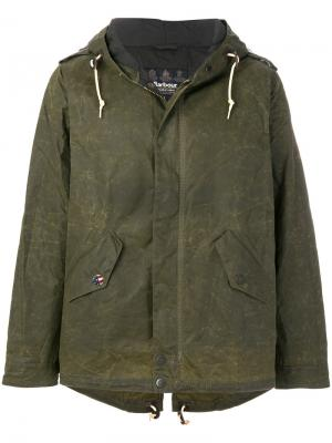 Куртка Steve McQueen Shell Barbour. Цвет: зелёный
