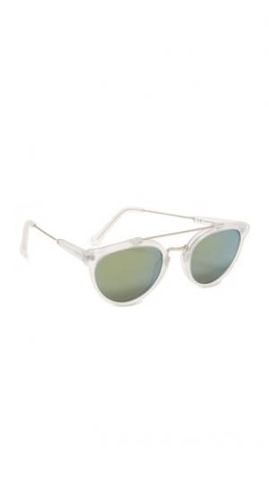 Матовые солнцезащитные очки Giaguaro с кристаллами Super Sunglasses