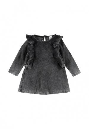 Платье джинсовое LC Waikiki. Цвет: серый