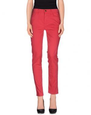 Повседневные брюки REBEL QUEEN. Цвет: коралловый