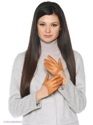 Перчатки Karma. Цвет: рыжий