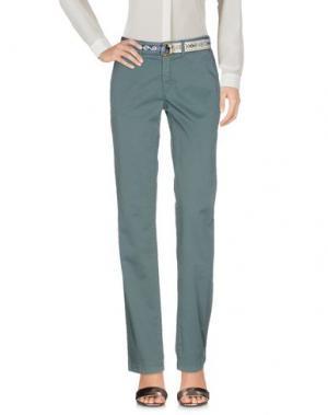Повседневные брюки FRANKLIN & MARSHALL. Цвет: цвет морской волны
