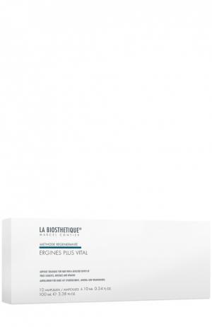 Лосьон-уход в ампулах для корней волос, 10 ампул La Biosthetique. Цвет: бесцветный