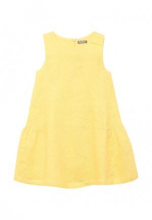 Платье Gulliver. Цвет: желтый