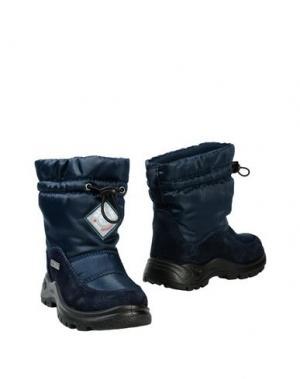Полусапоги и высокие ботинки NATURINO. Цвет: темно-синий