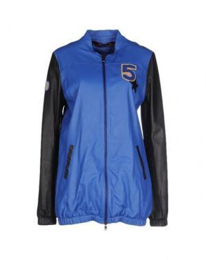 Куртка TRE CINQUE SETTE. Цвет: синий