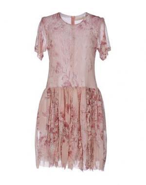 Короткое платье TROU AUX BICHES. Цвет: светло-розовый