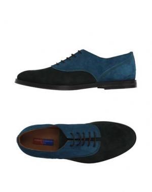 Обувь на шнурках OPENING CEREMONY. Цвет: изумрудно-зеленый